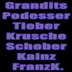Grandits/Podesser/Tieber/Krusche/Schober/Kainz/FranzK.
